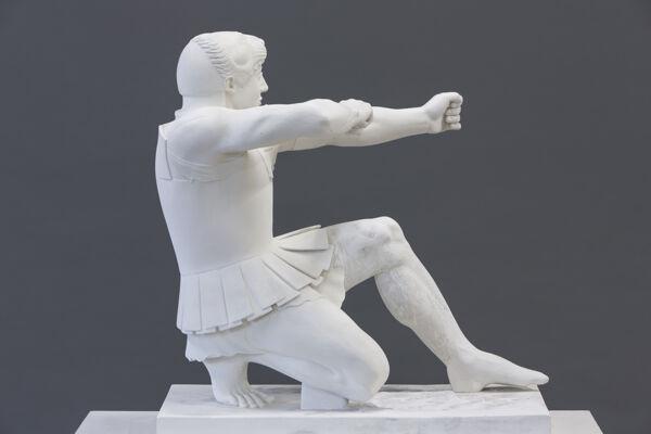 Vorschaubild Bogenschütze, Figur V vom Ostgiebel des Aphaia-Tempels