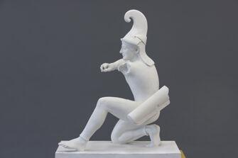 Vorschaubild Bogenschütze, Figur XI vom Westgiebel des Aphaia-Tempels