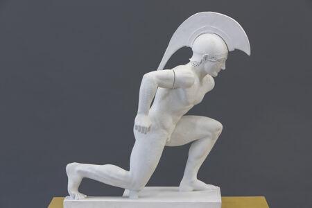 translation missing: de.preview Krieger, Figur V vom Westgiebel des Aphaia-Tempels