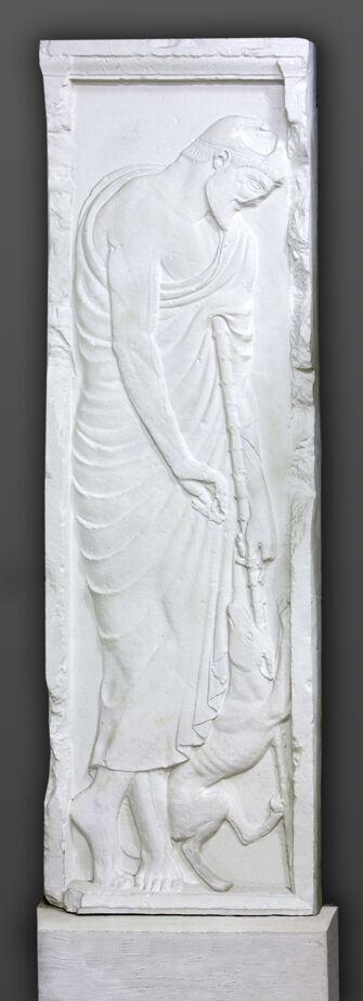 Vorschaubild Grabstele des Alxenor