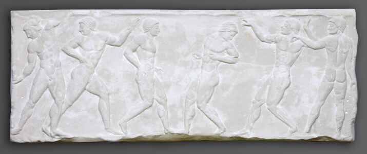 translation missing: de.preview Reliefs mit Palästraszenen
