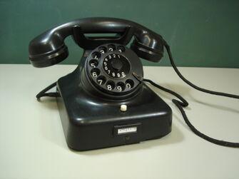 Vorschaubild Wählscheibentelefon