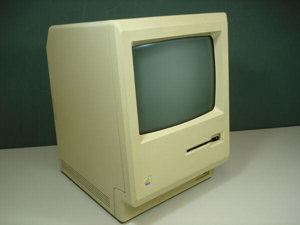 Vorschaubild Macintosh 128k,  aufgerüstet auf 512k