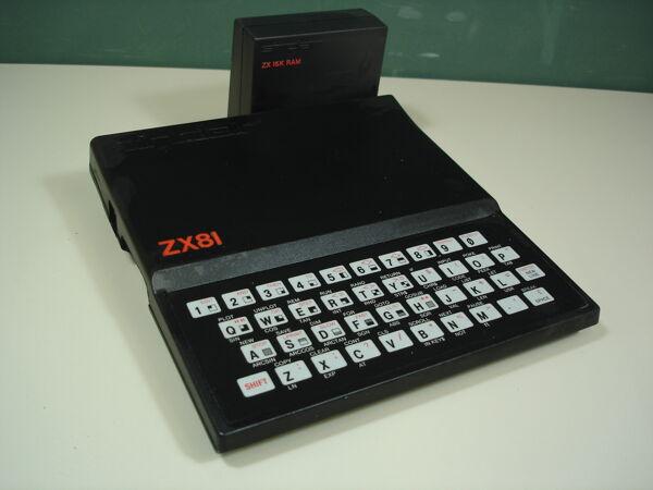Vorschaubild Sinclair ZX81 + ZX 16K RAM