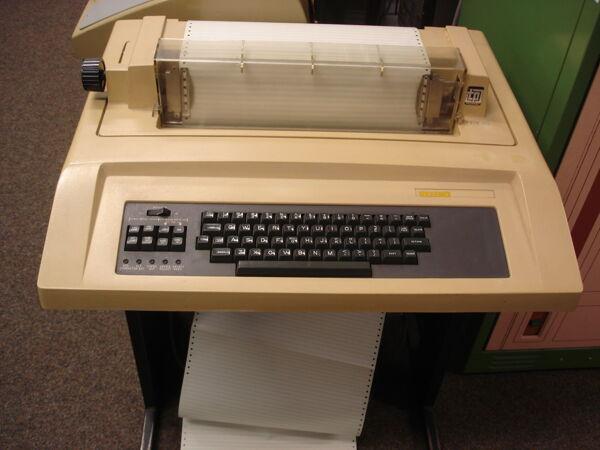 Vorschaubild Teleprinter
