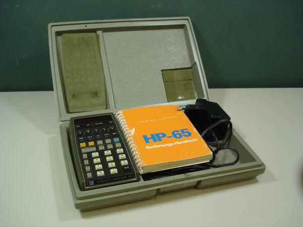 Vorschaubild Taschenrechner HP-65