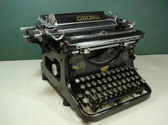Vorschaubild GROMA Schreibmaschine
