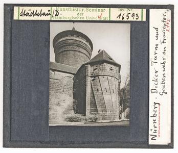 translation missing: de.preview Nürnberg: Dicker Turm und Grabenwehr am Frauentor