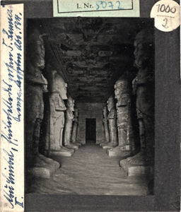 translation missing: de.preview Abu Simbel, Pfeilerhalle des 5. Raumes