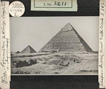 translation missing: de.preview Gizeh, Pyramiden der Könige Chephren und Mykerinos