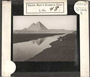 translation missing: de.preview Unbeschriftet (Nil und Pyramiden von Gizeh)