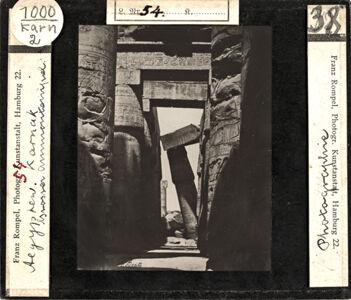translation missing: de.preview Ägypten. Karnak, Grosser Ammontempel. Photographie