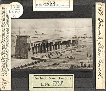 translation missing: de.preview Karnak, Chonstempel (Stoedtner-Nr. 2487)