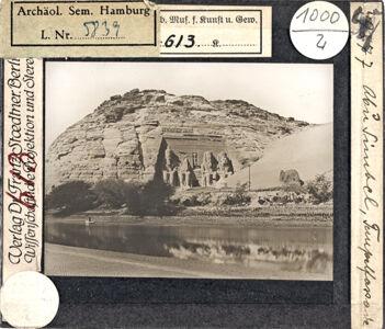 translation missing: de.preview Abu Simbel, Tempelfassade (Stoedtner-Nr. 49877)