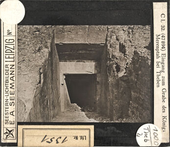 translation missing: de.preview Eingang zum Grab des Königs Merenptah bei Theben (Serie C I, 32)