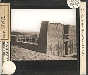 translation missing: de.preview Horus-Tempel in Edfu (Serie C I, 49)