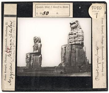 translation missing: de.preview Ägypten. Memnonkolosse (Amenemhet III.)