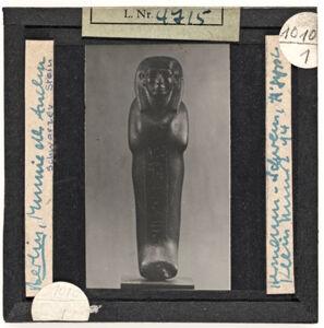 translation missing: de.preview Berlin, Statue in Mumiengestalt des Anchu