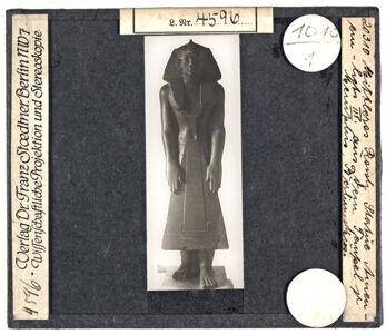 translation missing: de.preview Berlin. Statue des Amenemhet III. (Mittleres Reich) aus dem Tempel in Memphis