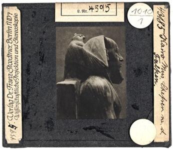 translation missing: de.preview Kairo: Sitzstatue Chephren mit dem Falken (Stoedtner-Nr. 43185)