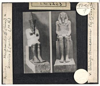 translation missing: de.preview Kairo. Mentuhotep III. (links) u. Sesostris I. (rechts)