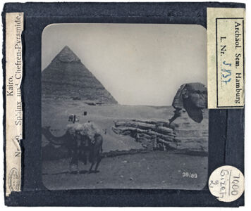 translation missing: de.preview Kairo. Sphinx und Chefren-Pyramide