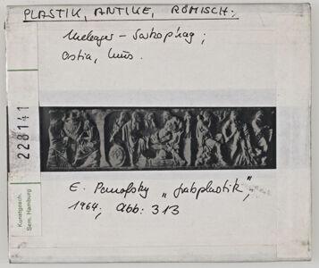 translation missing: de.preview Plastik, Antike, römisch: Meleager Sarkophag, Ostia, Museum