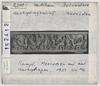 translation missing: de.preview Rom: Vatikan Belvedere, Sarkophagrelief: Nereiden