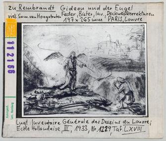 Vorschaubild zu Rembrandt: Gideon und der Engel. Paris, Louvre