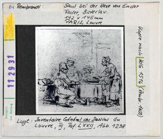 Vorschaubild zu Rembrandt: Saul bei der Hexe von Endor. Paris, Louvre