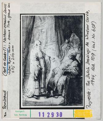 Vorschaubild zu Rembrandt: Aart de Gelder ?: Nathan ermahnt David