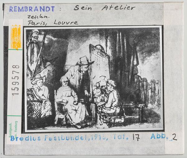 Vorschaubild Rembrandt: Rembrandts Atelier