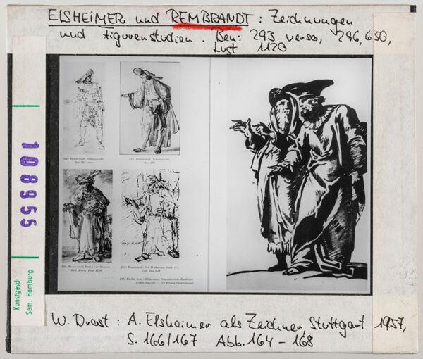 Vorschaubild Rembrandt und Elsheimer: Figurenstudien