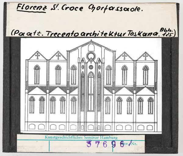 Vorschaubild Florenz: Santa Croce, Chorfassadade