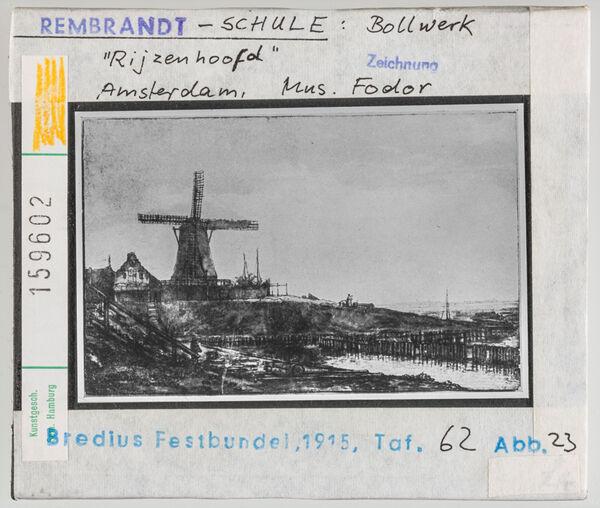 "Vorschaubild Rembrandt-Schule: Bollwerk ""Rijzenhoofd"". Amsterdam Museum Fodor"