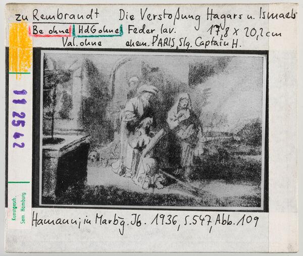 Vorschaubild zu Rembrandt: Die Verstoßung Hagars und Ismaels
