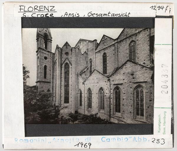 Vorschaubild Florenz: Santa Croce, Aussenansicht