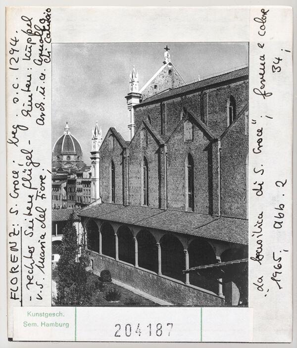 Vorschaubild Florenz: Santa Croce, rechter Seitenflügel