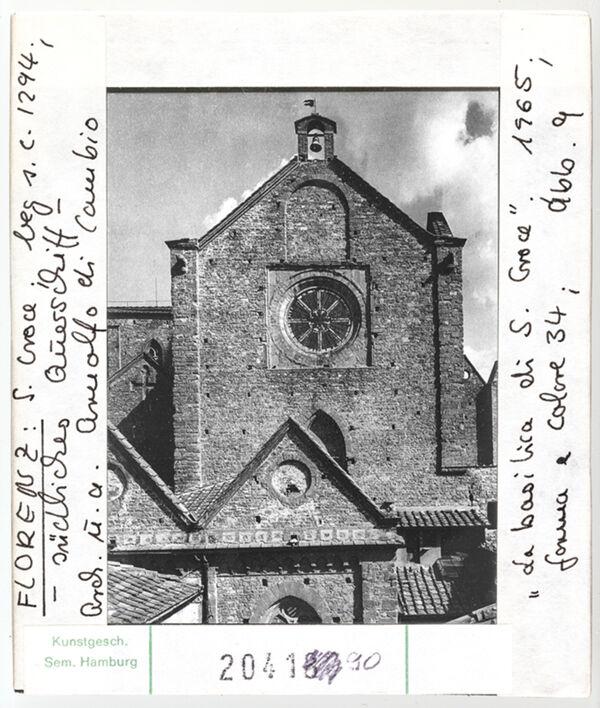 Vorschaubild Florenz: Santa Croce, südliches Querschiff. Architekt: Arnolfo di Cambio