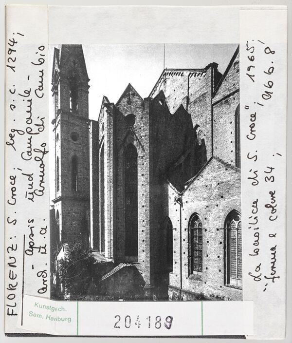 Vorschaubild Florenz: Santa Croce, Apsis und Campanile