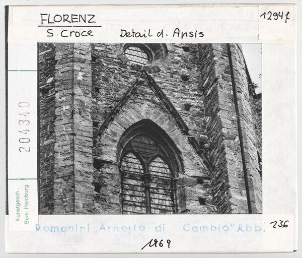 Vorschaubild Florenz: Santa Croce, Detail der Apsis