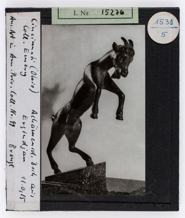 Vorschaubild Bock, Achämenidisch, aus Evzindjan, Cincinnati, Coll. Emery