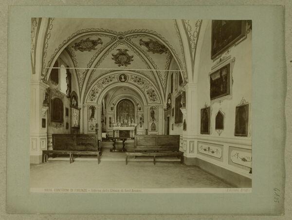 Vorschaubild Umgebung von Florenz: S. Ansano, Innenraum