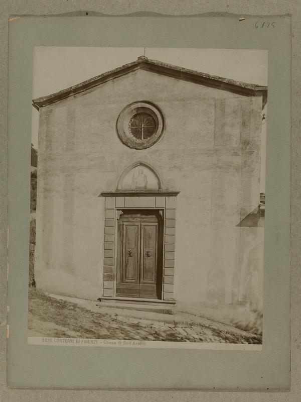 Vorschaubild Umgebung von Florenz, S. Ansano, Aussenansicht