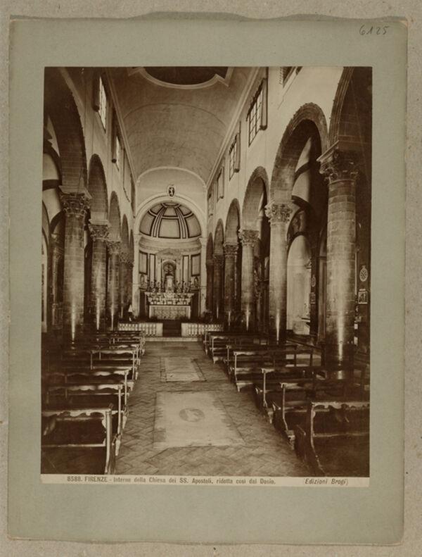 Vorschaubild Florenz: SS. Apostoli, Blick zum Chor