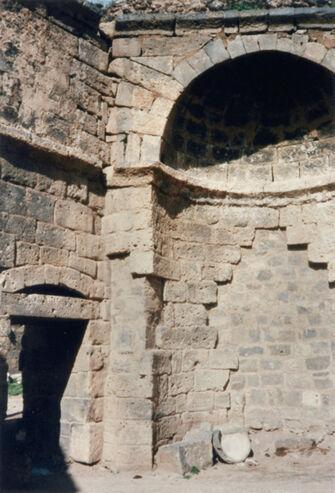 Vorschaubild Bosra, Syrien, Basilika, Apsis