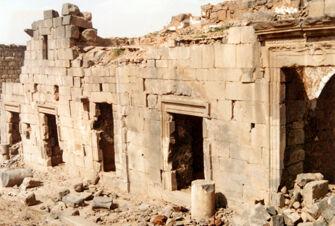 Vorschaubild Bosra, Syrien, Cardo Maximus Richtung Omar Moschee