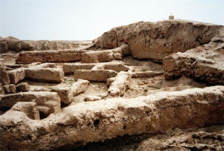 translation missing: de.preview Mari (Syrien), Dagan-Tempel, Zikkurat