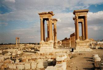 Vorschaubild Palmyra, Tetrapylon
