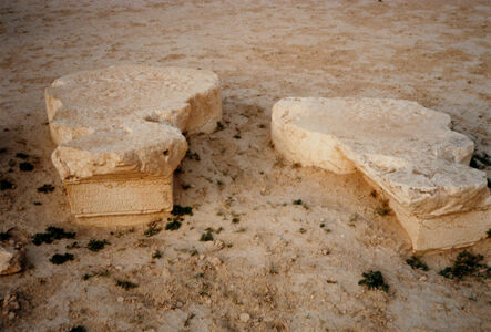 translation missing: de.preview Palmyra, Statuenpodeste in der Agora